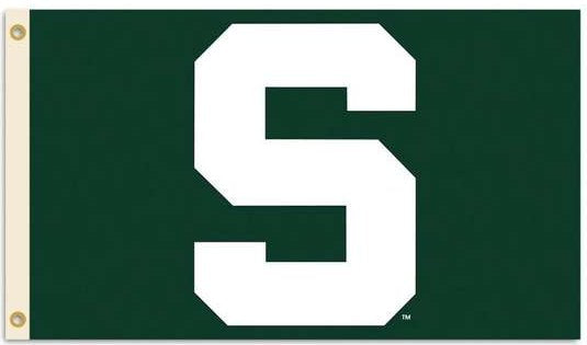 Michigan State University 3x5ft Flag