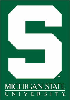 Michigan State University House Flag 2 Sided