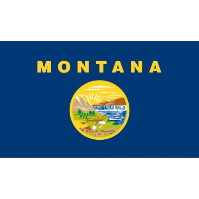 Montana Flag - Industrial Polyester