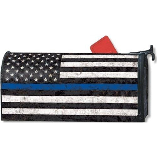 Support the Blue Standard Mailbox Cover