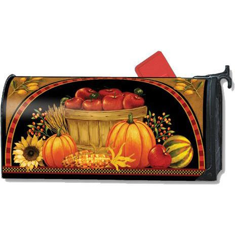 Harvest Basket Standard Mailbox Cover - FlagsOnline.com by CRW Flags Inc.