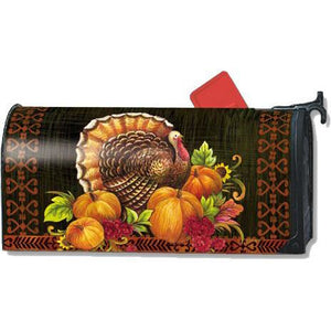 Give Thanks Turkey Standard Mailbox Cover - FlagsOnline.com by CRW Flags Inc.