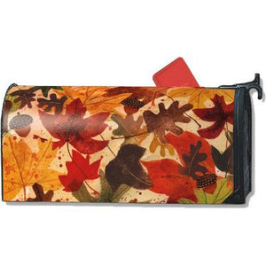 Fallen Leaves Standard Mailbox Cover - FlagsOnline.com by CRW Flags Inc.
