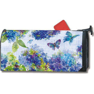 Blue Hydrangea Standard Mailbox Cover - FlagsOnline.com by CRW Flags Inc.