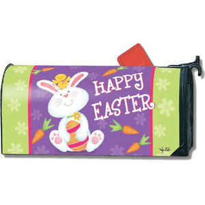 Bunny & Chick Standard Mailbox Cover - FlagsOnline.com by CRW Flags Inc.
