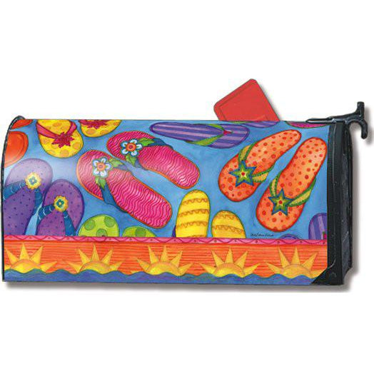 Flip Flop Fun Standard Mailbox Cover - FlagsOnline.com by CRW Flags Inc.