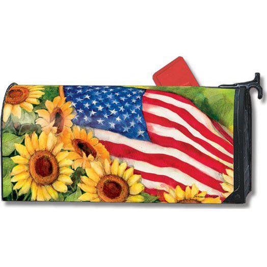 American Sunflowers Standard Mailbox Cover - FlagsOnline.com by CRW Flags Inc.