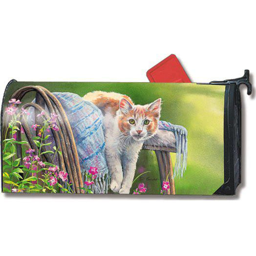 Kitty Cool Down Standard Mailbox Cover - FlagsOnline.com by CRW Flags Inc.