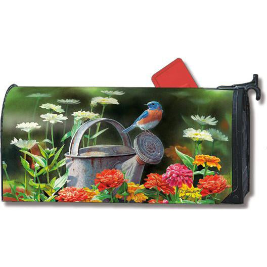 Garden Bluebird Standard Mailbox Cover - FlagsOnline.com by CRW Flags Inc.