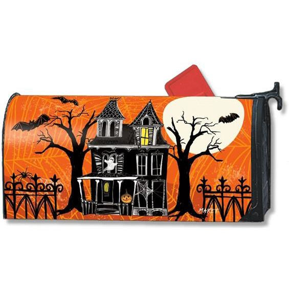 Haunted House Standard Mailbox Cover