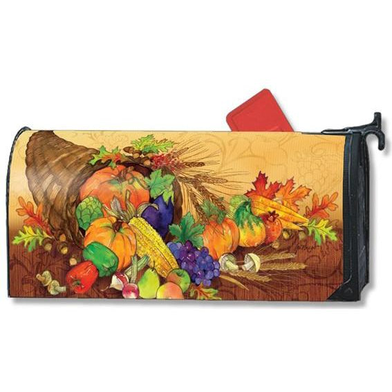 Bountiful Harvest Standard Mailbox Cover - FlagsOnline.com by CRW Flags Inc.