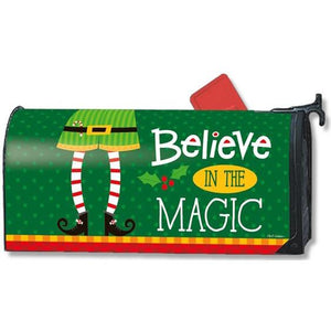 Elf is Watching Standard Mailbox Cover - FlagsOnline.com by CRW Flags Inc.