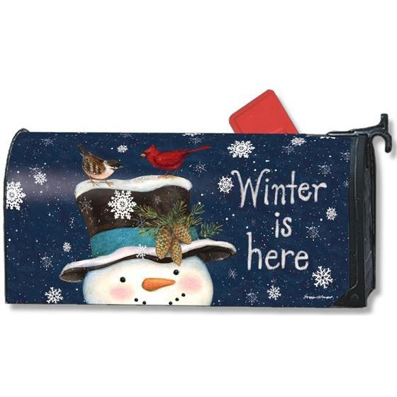 Winter is Here Standard Mailbox Cover - FlagsOnline.com by CRW Flags Inc.