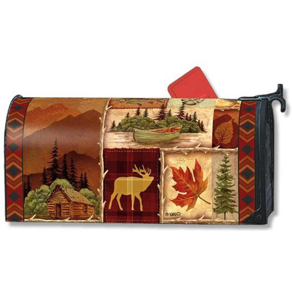 Cabin Fever Standard Mailbox Cover - FlagsOnline.com by CRW Flags Inc.