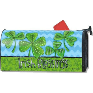Irish Blessings Standard Mailbox Cover - FlagsOnline.com by CRW Flags Inc.