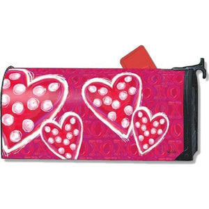 Valentine Wishes Standard Mailbox Cover - FlagsOnline.com by CRW Flags Inc.