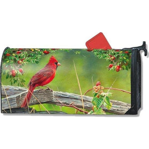 Cardinal Lookout Standard Mailbox Cover - FlagsOnline.com by CRW Flags Inc.