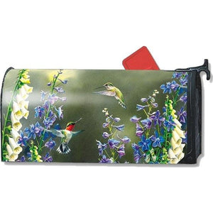 Hummingbird Garden Standard Mailbox Cover - FlagsOnline.com by CRW Flags Inc.