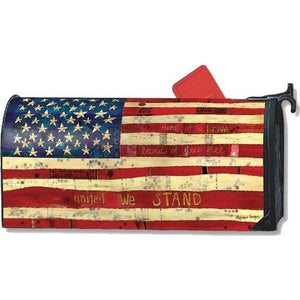 Home of the Brave Standard Mailbox Cover - FlagsOnline.com by CRW Flags Inc.