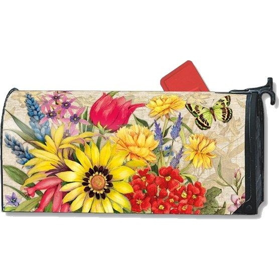 Botanical Garden Standard Mailbox Cover - FlagsOnline.com by CRW Flags Inc.