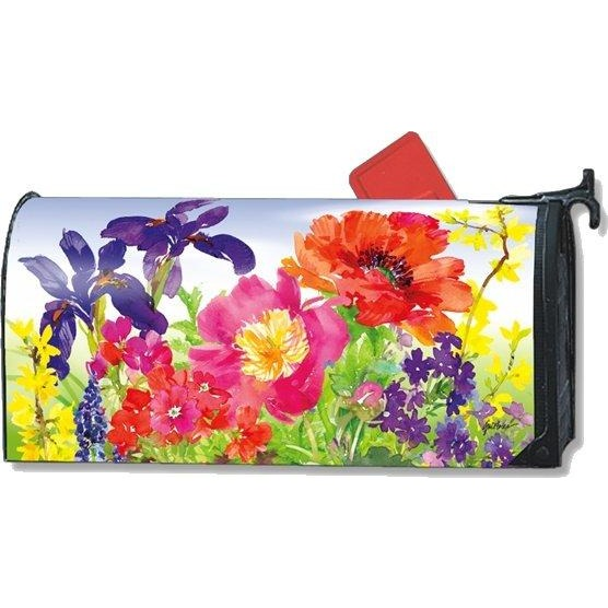 Garden Blooms Standard Mailbox Cover - FlagsOnline.com by CRW Flags Inc.