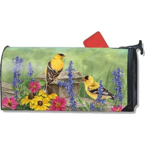 Garden Finches Standard Mailbox Cover - FlagsOnline.com by CRW Flags Inc.