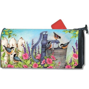 Birds of Spring Standard Mailbox Cover - FlagsOnline.com by CRW Flags Inc.