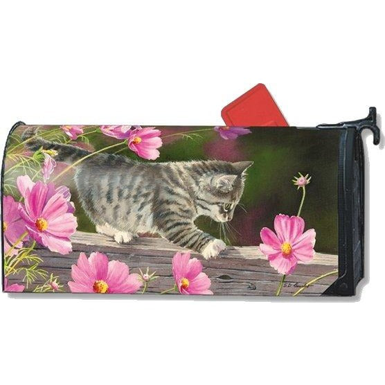 Curious Kitty Standard Mailbox Cover - FlagsOnline.com by CRW Flags Inc.