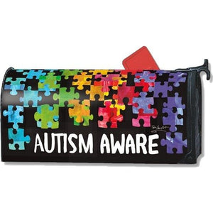 Autism Awareness Standard Mailbox Cover - FlagsOnline.com by CRW Flags Inc.
