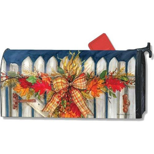 Autumn Gate Standard Mailbox Cover - FlagsOnline.com by CRW Flags Inc.