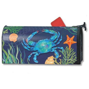 Blue Crab Standard Mailbox Cover - FlagsOnline.com by CRW Flags Inc.