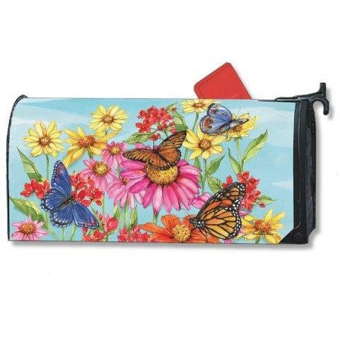 Field of Butterflies Standard Mailbox Cover - FlagsOnline.com by CRW Flags Inc.