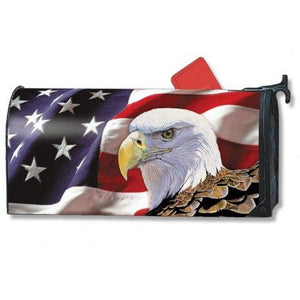 Spirit of Freedom Standard Mailbox Cover - FlagsOnline.com by CRW Flags Inc.