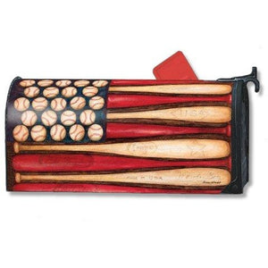 Baseball Season Standard Mailbox Cover - FlagsOnline.com by CRW Flags Inc.