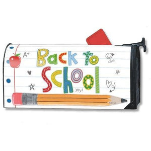 School is Cool Standard Mailbox Cover - FlagsOnline.com by CRW Flags Inc.