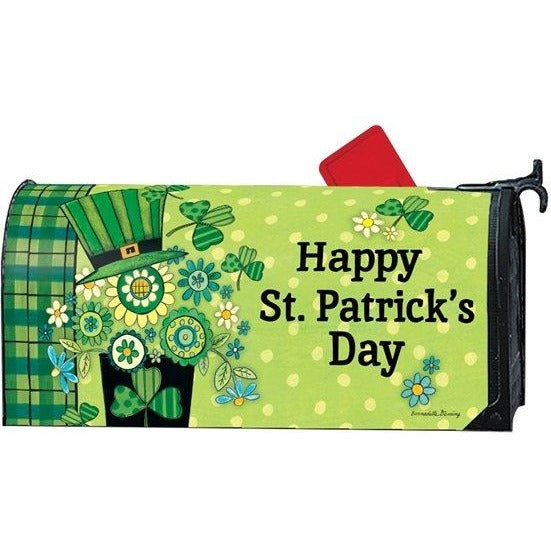 Blooming Irish Standard Mailbox Cover