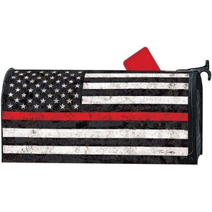 Support the Red Standard Mailbox Cover - FlagsOnline.com by CRW Flags Inc.