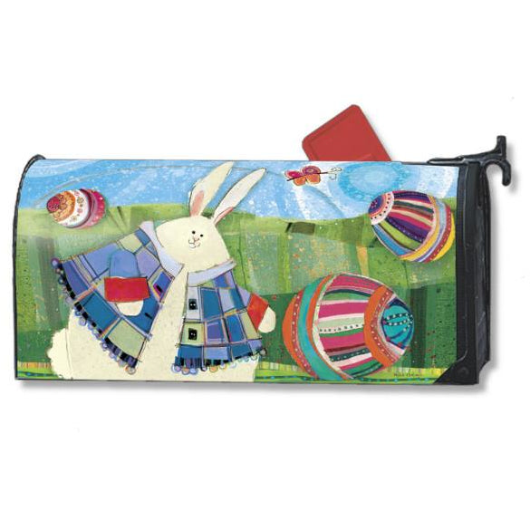 Funny Bunny Standard Mailbox Cover