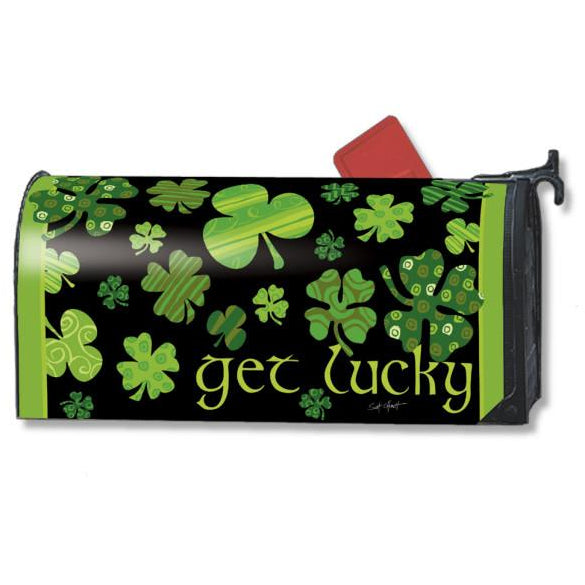 Get Lucky Standard Mailbox Cover - FlagsOnline.com by CRW Flags Inc.