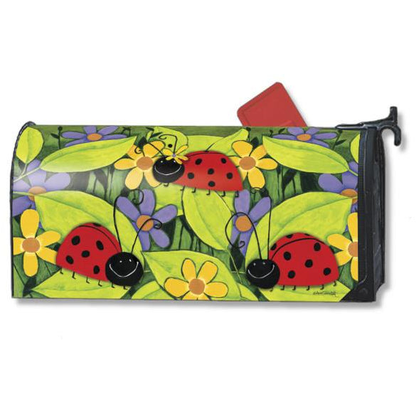 Ladybug Visit Standard Mailbox Cover - FlagsOnline.com by CRW Flags Inc.