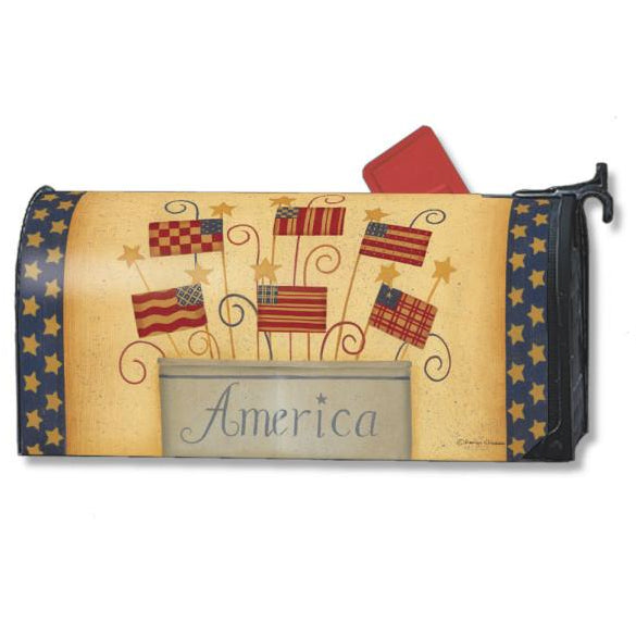 Land That I Love Standard Mailbox Cover - FlagsOnline.com by CRW Flags Inc.