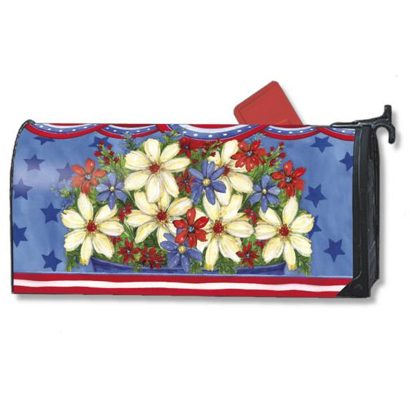 American Beauty Standard Mailbox Cover - FlagsOnline.com by CRW Flags Inc.