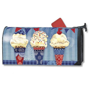 Scoops of Summer Standard Mailbox Cover - FlagsOnline.com by CRW Flags Inc.