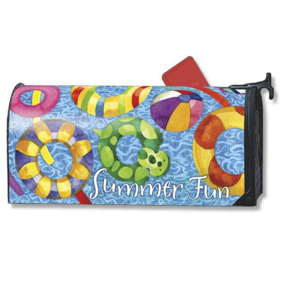 Summer Fun (Pool) Standard Mailbox Cover - FlagsOnline.com by CRW Flags Inc.