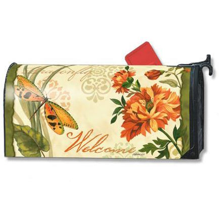 Peaceful Garden Standard Mailbox Cover - FlagsOnline.com by CRW Flags Inc.