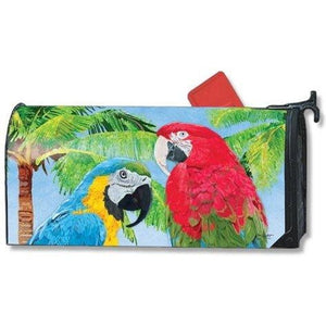 Tropical Beauties Standard Mailbox Cover - FlagsOnline.com by CRW Flags Inc.