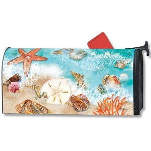 Seashore Treasures Standard Mailbox Cover - FlagsOnline.com by CRW Flags Inc.