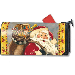St. Nick Standard Mailbox Cover - FlagsOnline.com by CRW Flags Inc.