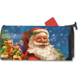 Jolly Santa Standard Mailbox Cover - FlagsOnline.com by CRW Flags Inc.