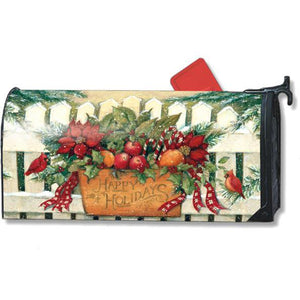 Holiday Gate Standard Mailbox Cover - FlagsOnline.com by CRW Flags Inc.
